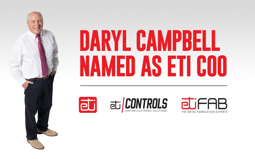 Daryl Campbell Named as ETI COO